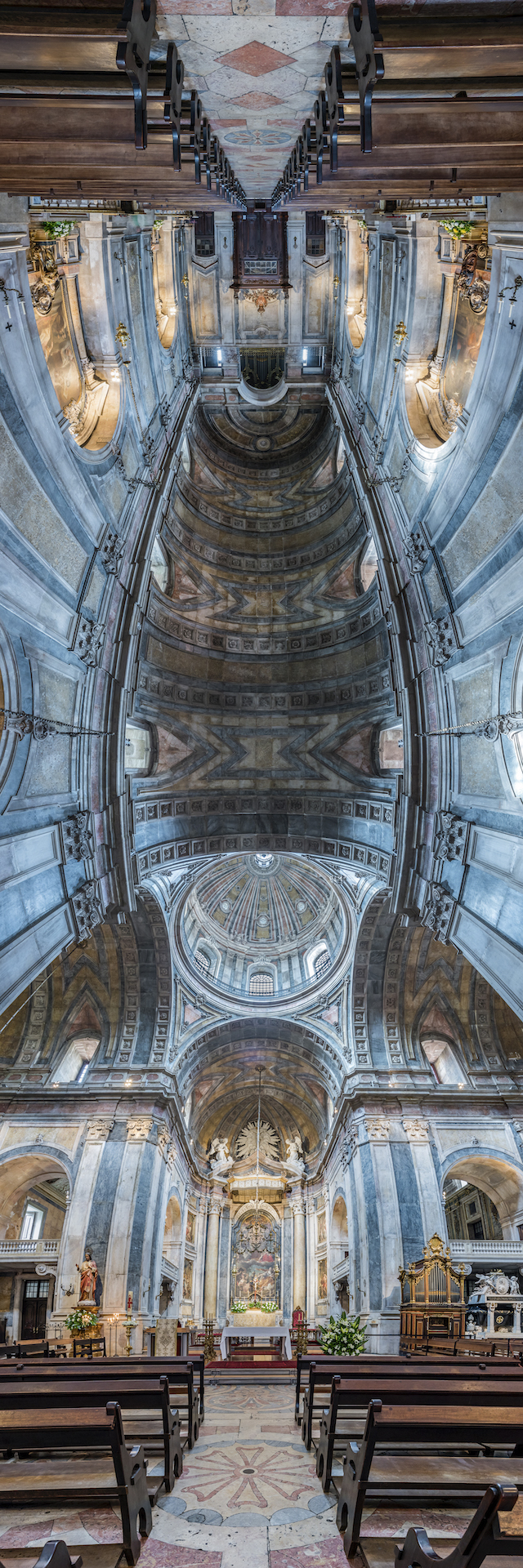 [Exclusive Photos] Explore Portugal's Churches in These Stunning Vertical Panoramas