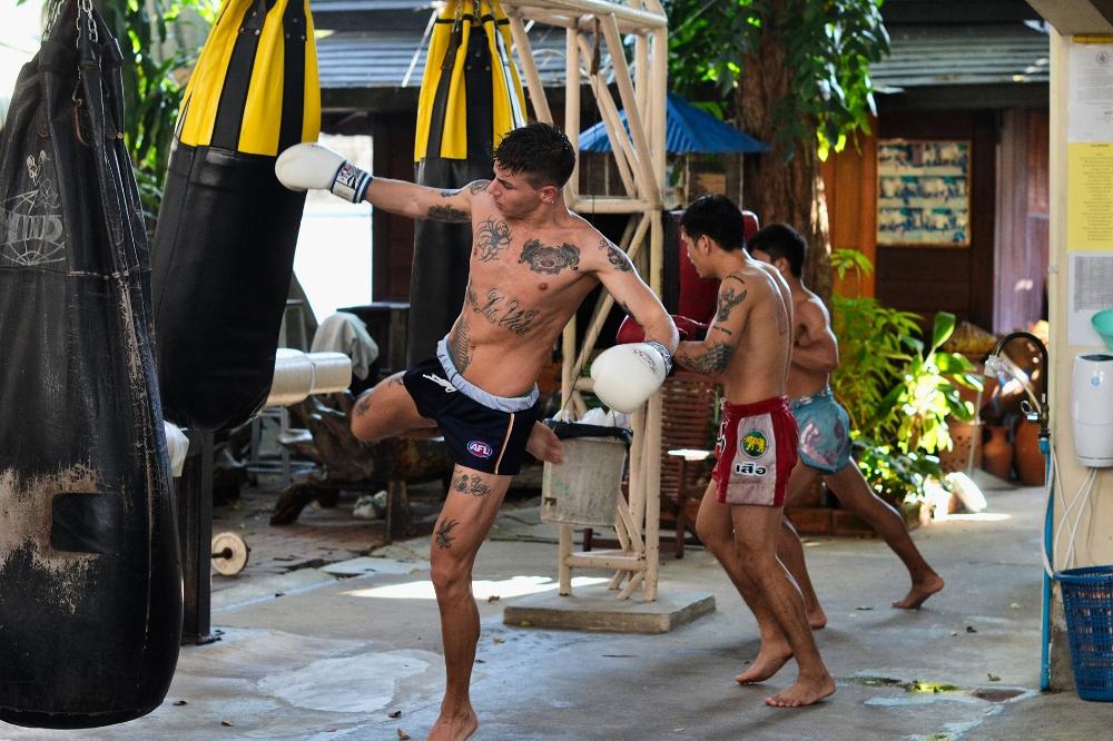 El muay thai bajar de peso