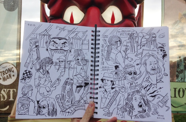 All the Coolest Stuff We Saw at Riot Fest, Illustrated