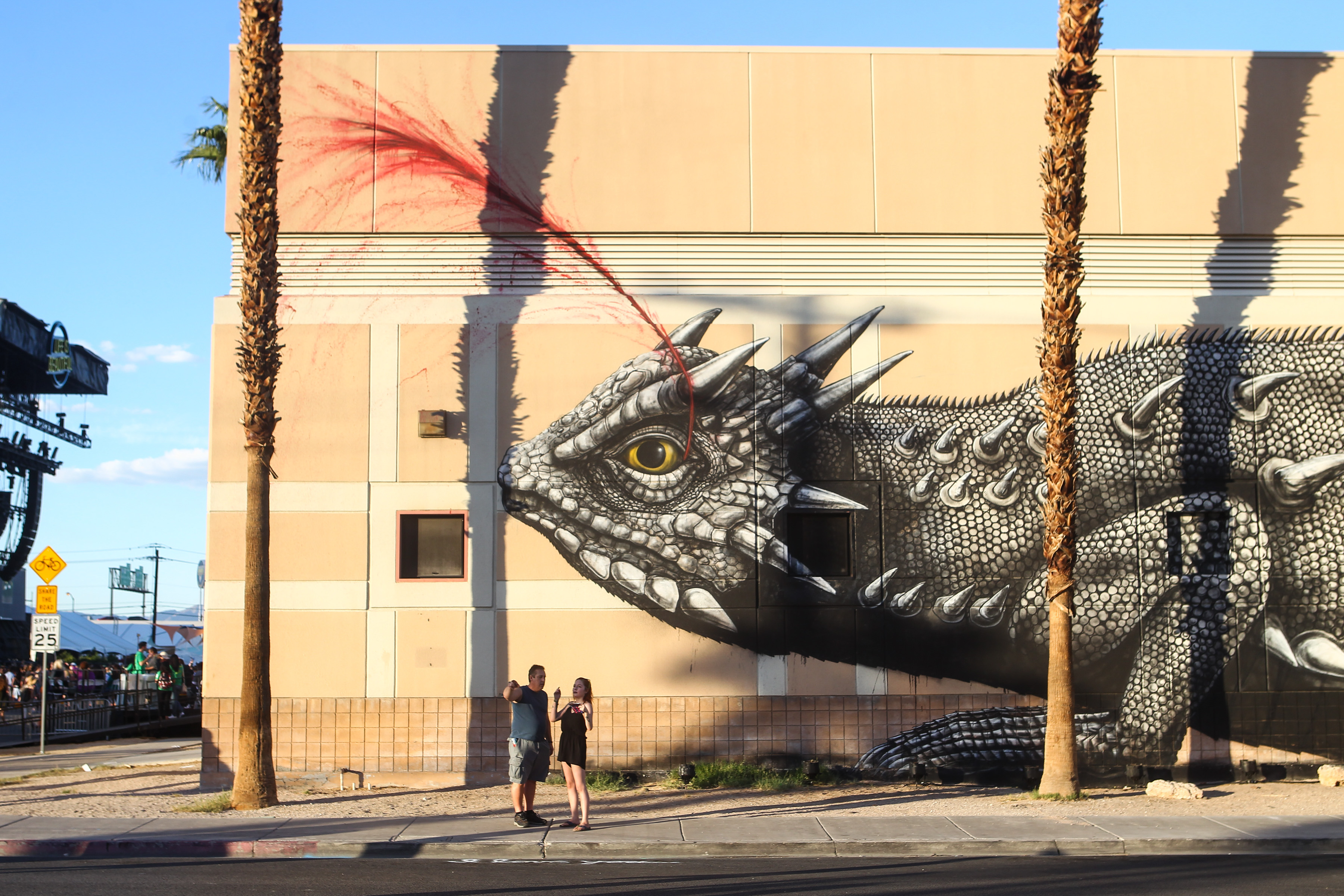 Banksy, D*Face, and How Life Is Beautiful Transformed Downtown Las ...