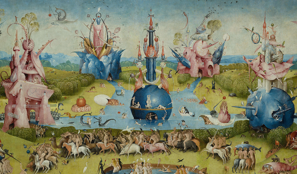 Visit Boschs Garden of Earthly Delights Inside a Gorgeous Web