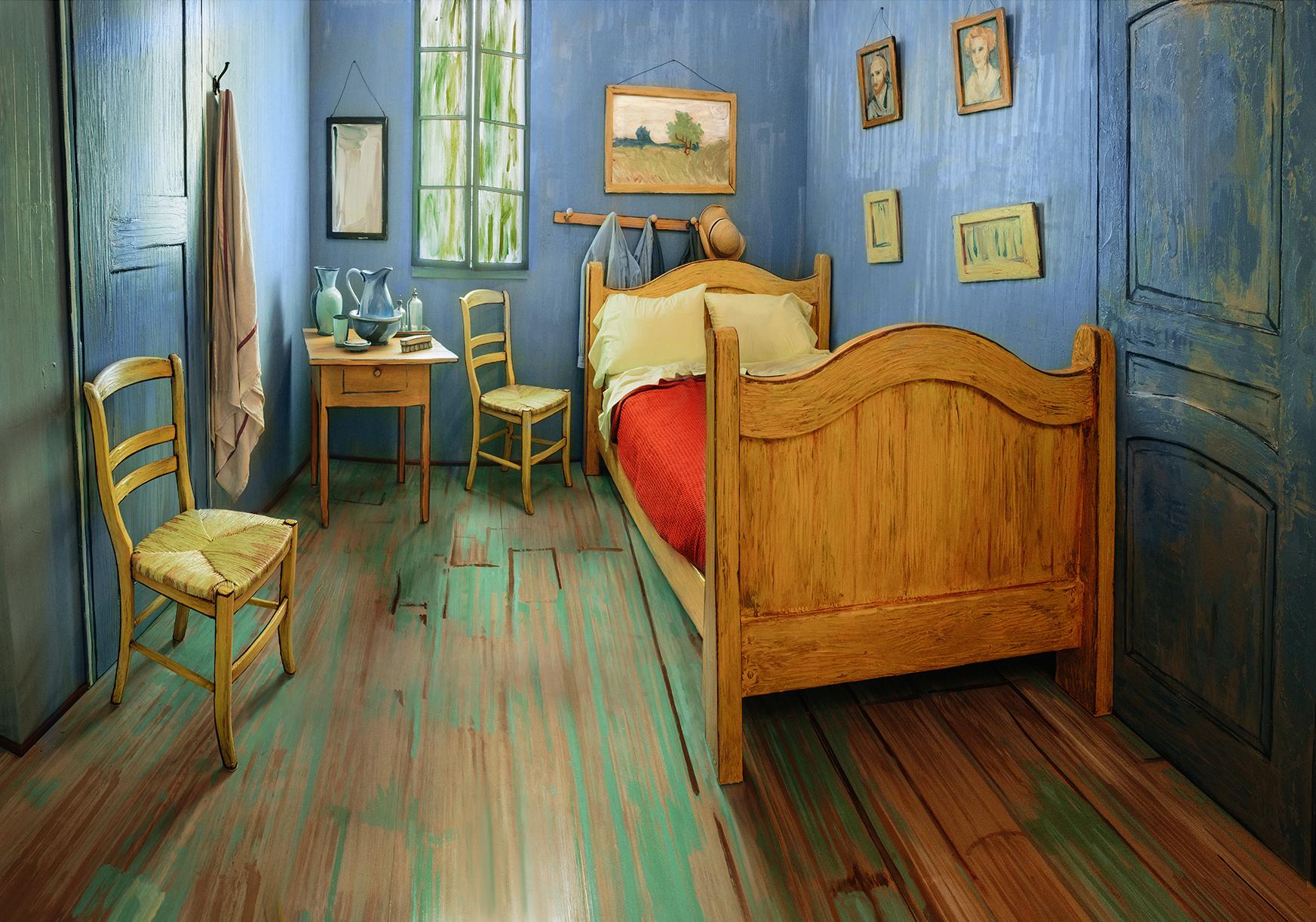 im wohl künstlerischsten airbnb aller zeiten könnt ihr in van ... - Schlafzimmer In Arles