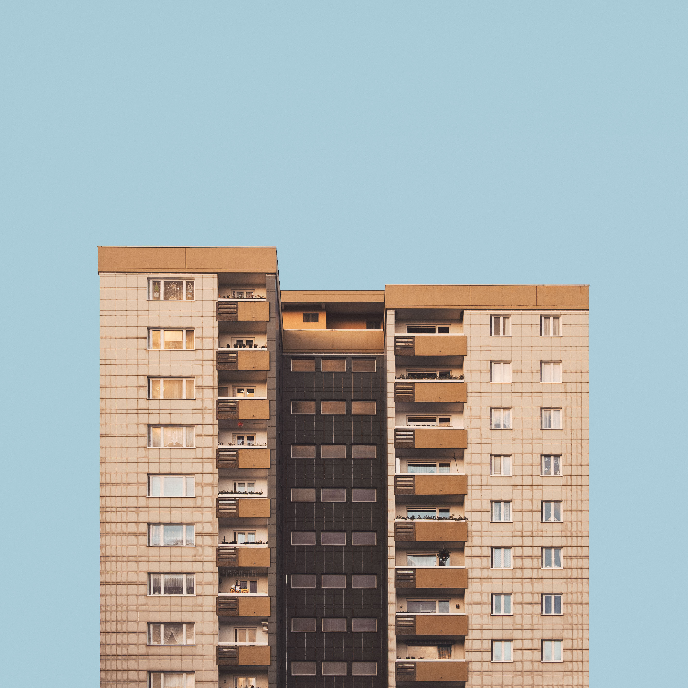 Photographer Captures Stark Stacks of Berlin Housing Projects - VICE
