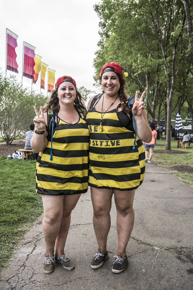 Double Vision Lollapalooza Style Is All About Matching